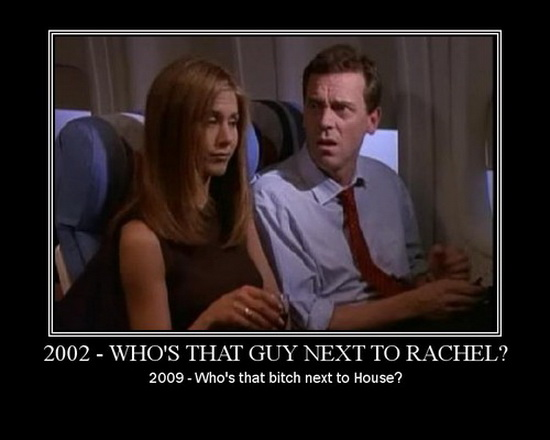 Whos That Guy Next to Rachel