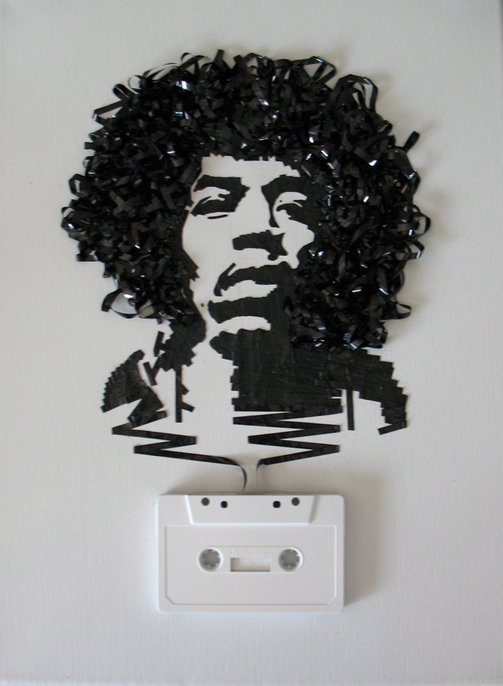 Jimi Hendrix On Cassette