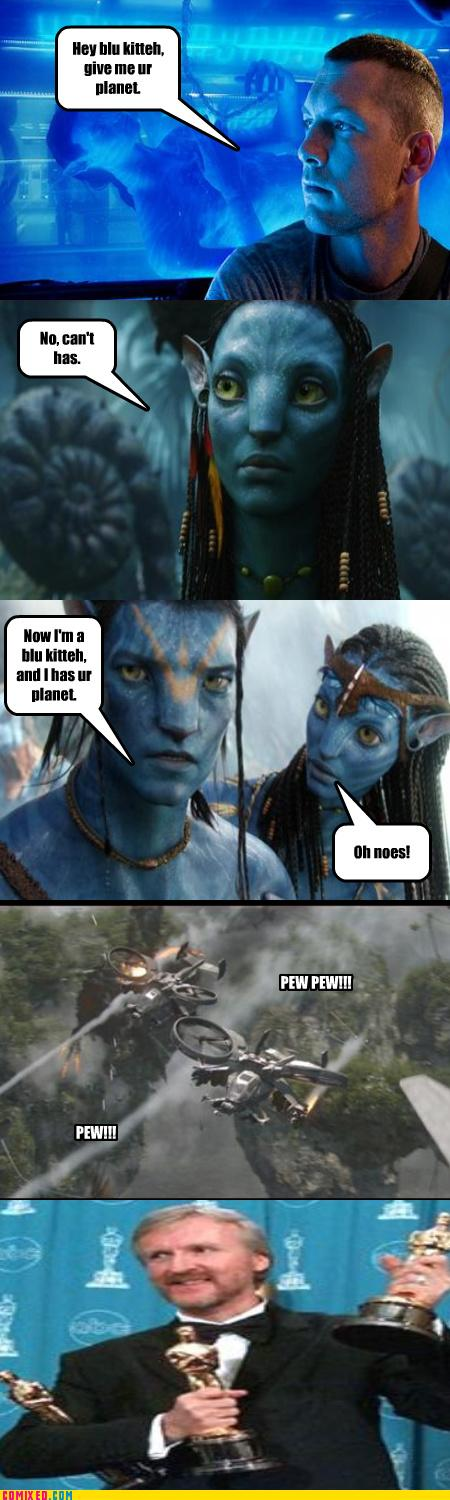 Avatar Explain Comic LOLCats