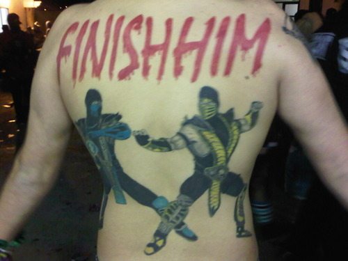 Finish Him Tattoo