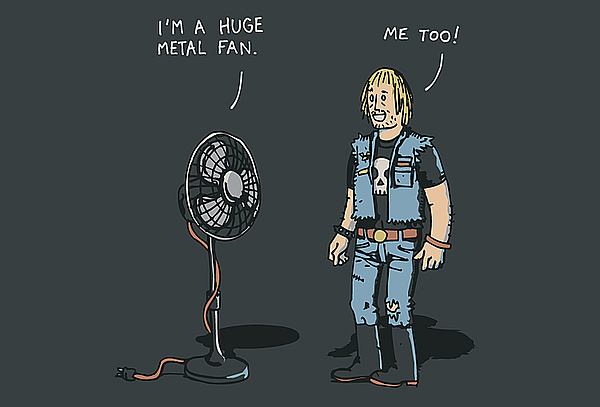Huge Metal Fan Comic