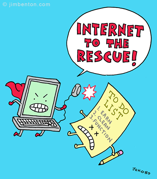 Internet to the Rescue!
