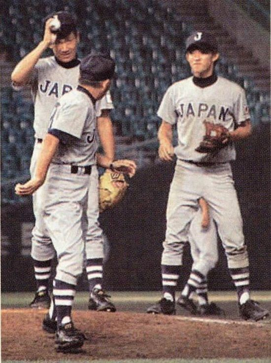 Japanese Baseball Arm