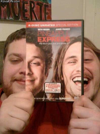 Pineapple Express Movie Cover IRL