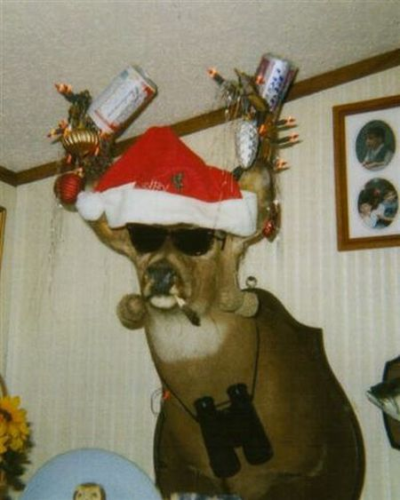 Redneck Christmas Deer