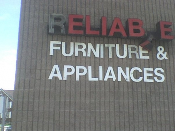 Reliable Sign Furniture Appliance