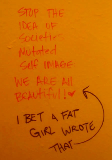 I Bet A Fat Girl Wrote This