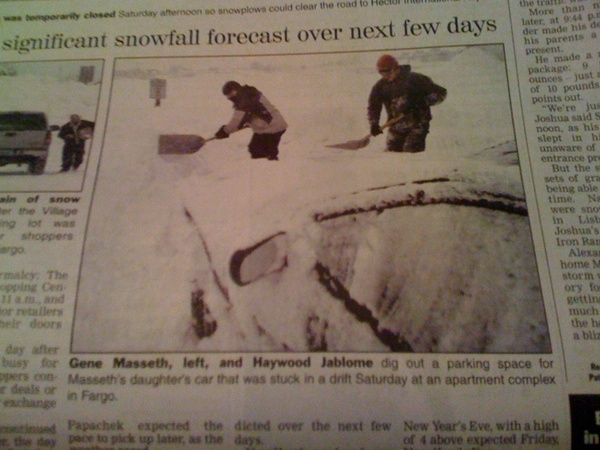 Fargo Newspaper Haywood Jablowme