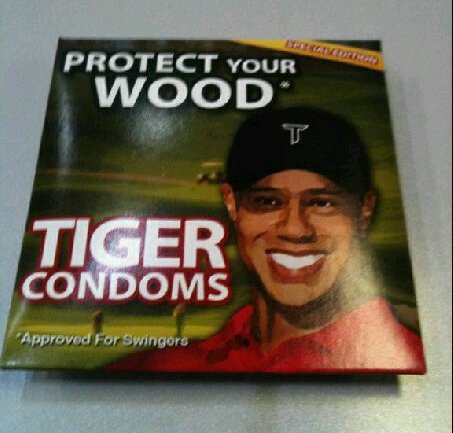 Tiger Woods Condoms