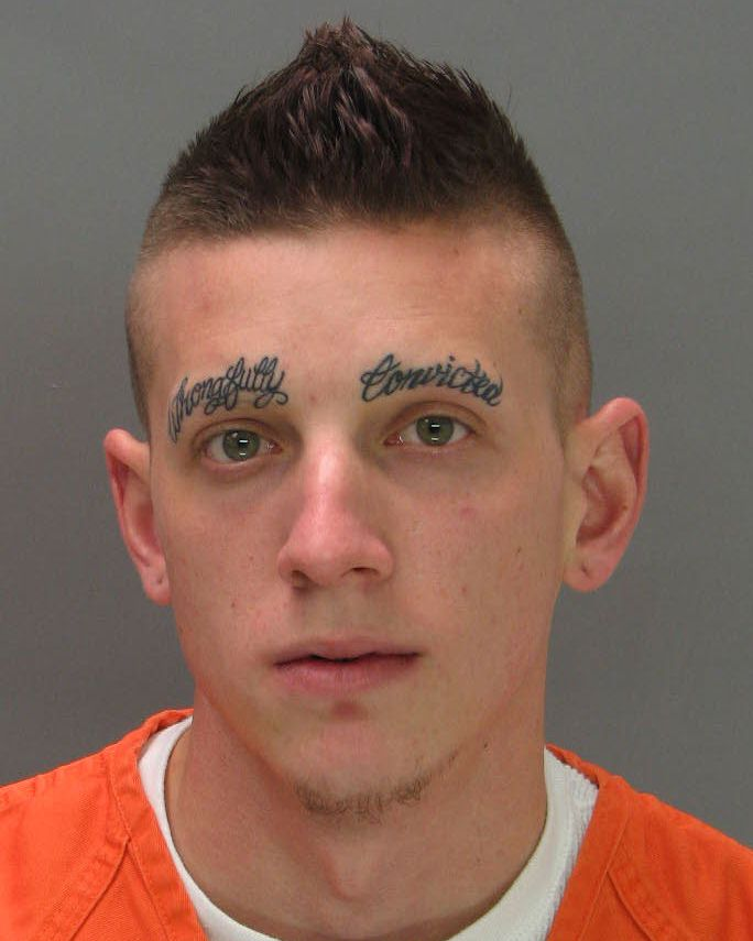 Wrongfully Convicted Tattoo