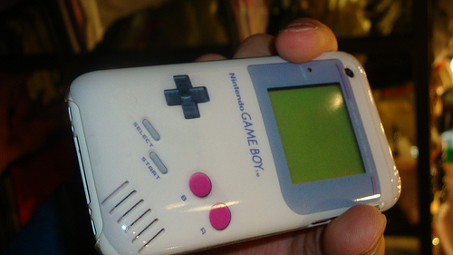 Sweet Gameboy iPhone Case