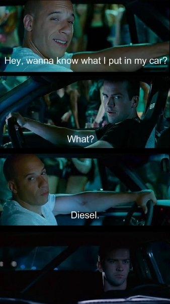 Vin Diesel Fast Furious What I put in Car