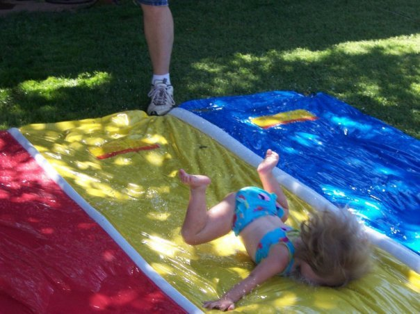 Slip and Slide Face Plant