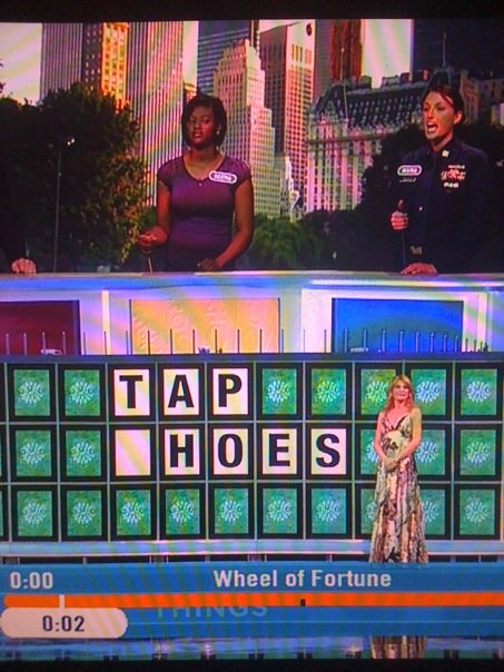 Wheel of Fortune Tap Hoes