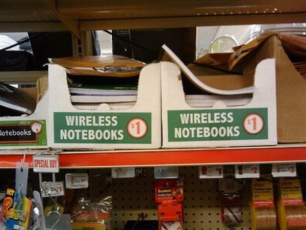 Wireless Notebooks 1 Dollar