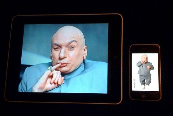 dr evil mini me iphone ipad