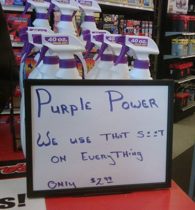 AutoZone Uses Purple Power On Everything