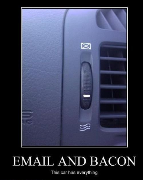 Car Email Bacon