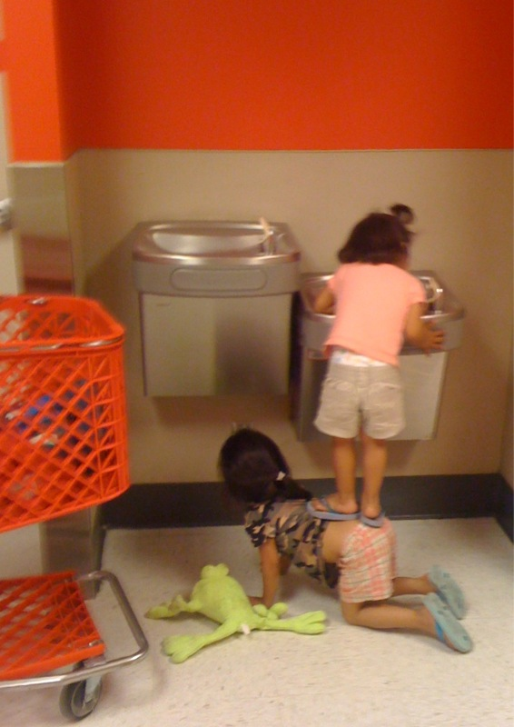 Kids Teamwork Water Fountain