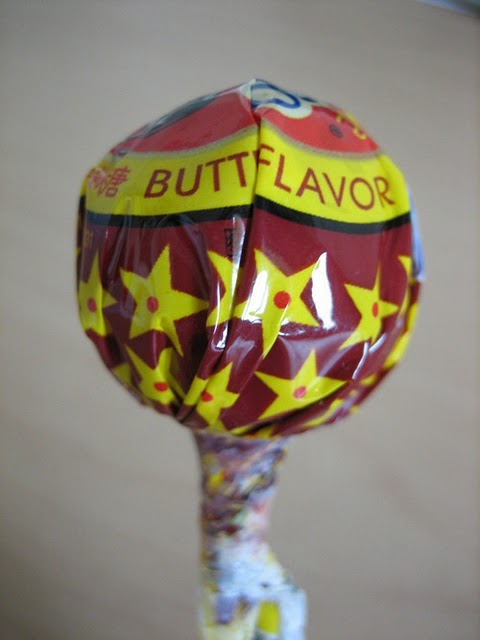Worst Lollipop Flavor Ever Butt Flavor