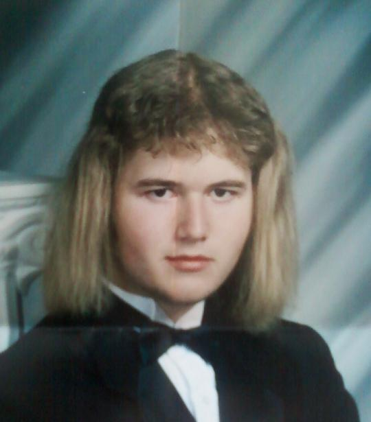 Sideways Mullet Haircut