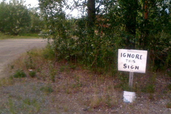 Ignore This Sign