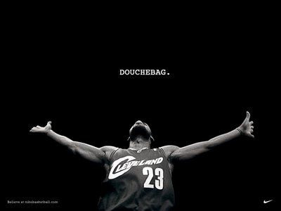 Lebron James Douchebag