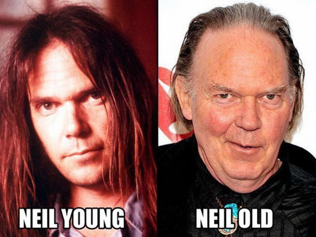 Neil Young vs Neil Old