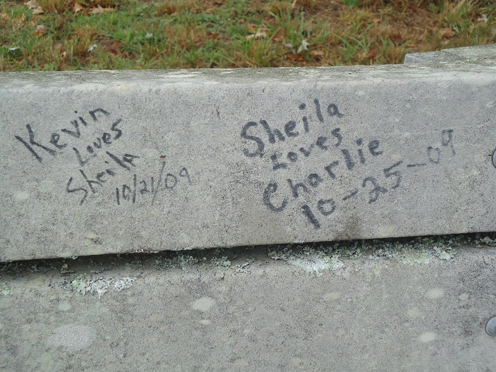 Sheila Broke His Heart on th Curb