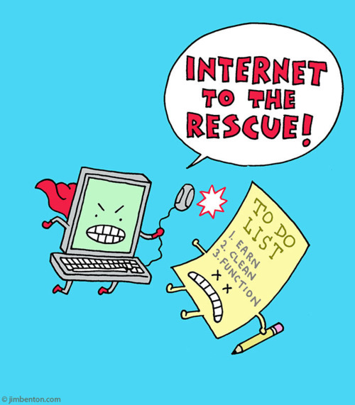 Internet To The Rescue