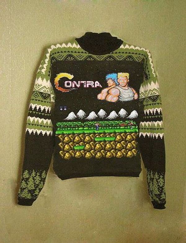 Pure Awesome Ness Contra Sweater