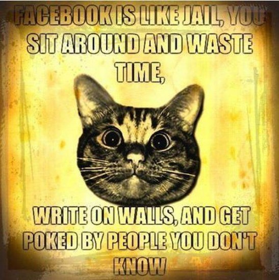 facebook is like jail