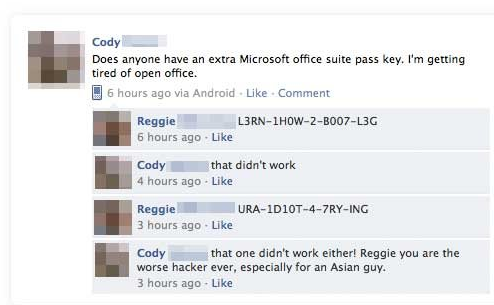 facebook office key reggie