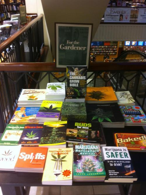 borders puts out books for gardners all pot books