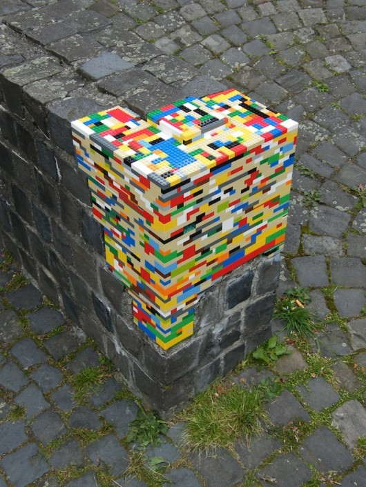 ftfy you brick wall with legos