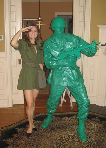 Awesome Realistic Army Man Costume