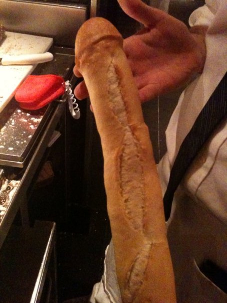 Bread Shaped Like a Penis
