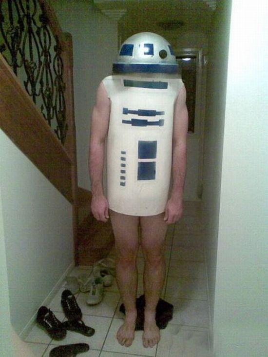 r2d2 Costume Expected It To Be more Awesome