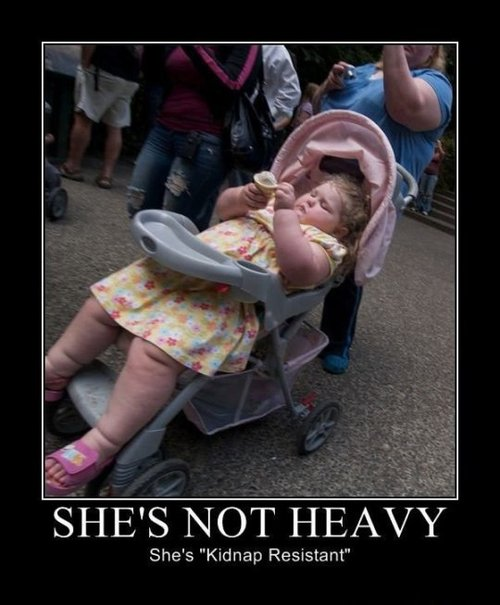 shes not heavy kidnap resistant