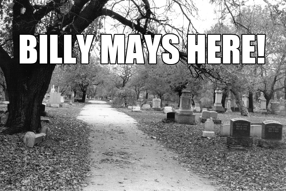billy mays here cemetary
