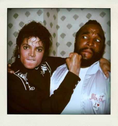 Michael Jackson Mr T Punches Face 80s