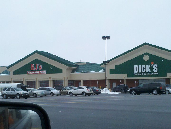 bjs wholesale club and dicks sporting goods