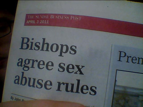bishops agree sex abuse rules newspaper