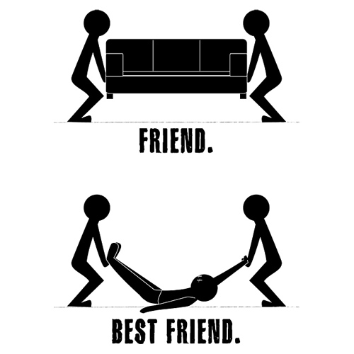 Best Friend Couch Dead Body