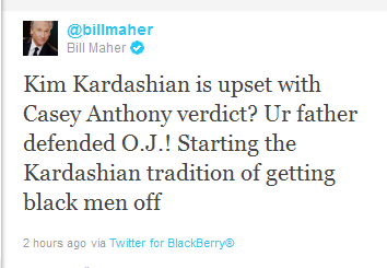 bill maher owns kim kardashian on twitter